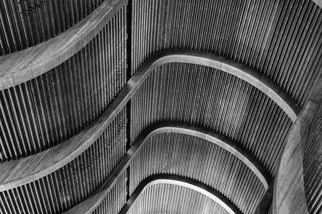 milano brutalistarchitecture patterns photography symmetry shapessymmetryshadows architecturehunter italy blackandwhite bw architecture concrete photolove church brutalism ignaziogardella shapes