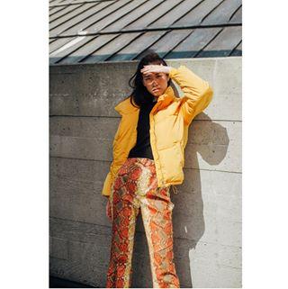 color portrait concrete style london 50mm nikon fashion