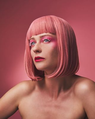 wig editorial 27 makeup fashion pink shuba magazine