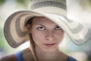 blueeyes canon canon135mm hat naturallight nomakeup poland polishgirl polskadziewczyna portrait portret sesja session