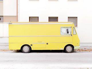 streetphotography olympus vintage friuliveneziagiulia italy urbanphotography dovesiamoquandononcisiamo vans trucks yellow