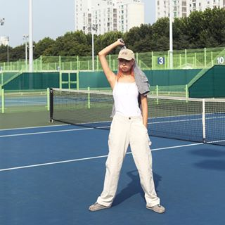 shoot daily shooting photoshoot tennis look seoul sport summer model lookbook fashionphotos mood fashion lifestyle tbt