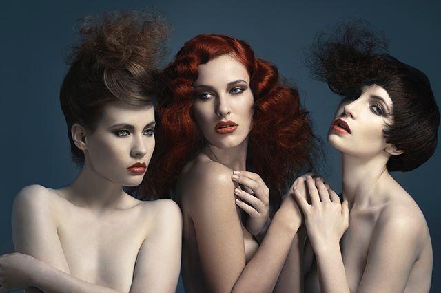 rggedubts rggbts picoftheday skin mediumformat model trio bts photography waynejohns tbt female hair beauty digital workshop rggedu1light