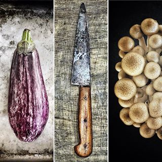 cook vegetables photography photo foodphotography ingredients aubergine cooking location stillife mushrooms collage textures knife stilllifephotography photoshoot