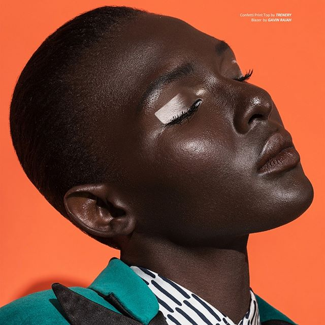 highfashion womensfashion africanmodel fashionphotography color fashiontrends capetown orange creativemakeup womensstyle style melaningoddess fashionphotographyappreciation fashion makeuptrends darkskin melanin jewelry edgymakeup pattern