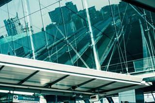wait trainstation stratford london ifsec dlr