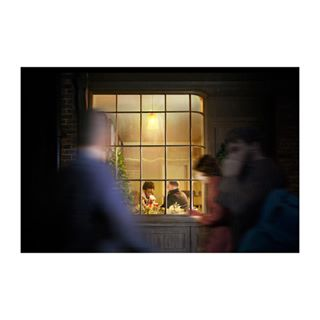 nikond850 windowframe timeout advertising holidays commission coffee busy break nikon nightshoot starbucks atl phaseonephoto friends photography street evening streetlight campaign onlocation streetview tethertools motion window practicals catchup