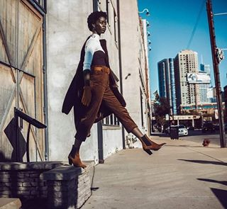 style afro model city sony fashion beauty dapper chicago blackgirlmagic