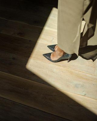 sarahmangeret brand shoes spanish glitter