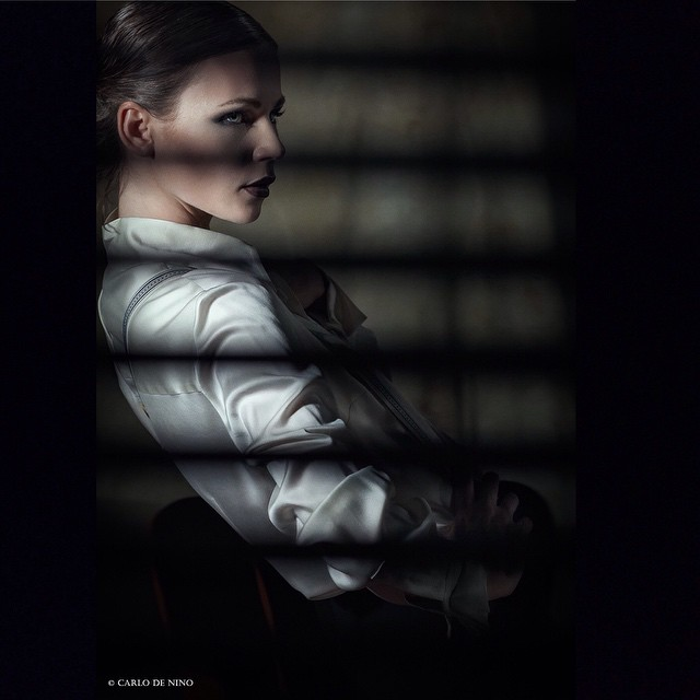 strobist portrait beauty dark model woman ritratto