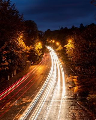 bluehour sunrise northernireland longexposure belfastandbeyond commuterlife traffic