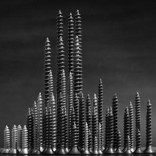 art artecontemporanea biancoenerophoto blackandwhite city conceptual conceptualphoto manhattan screws