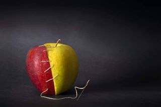 apple conceptual conceptualphoto conceptualphotography fruit tuttomele tuttomelecavour