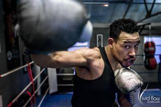 portrait photography sport training boxing