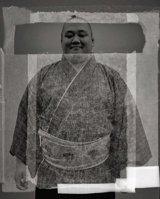 horssujet notaboutcorona archive yoshio 440 artist collaboration japan tokyo texture rikishi sumo experimentalphotography experiment experimental miss accident imperfection largeformat analog filmphotography 4x5