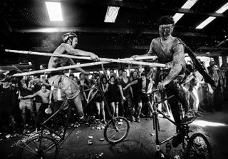 mairiedeparis landysauvage mediathequeedmondrostand paris richmond newyork friends family bikeclub underground subculture jousting tallbike slaughterama bikekill personalproject bookobject book opening exhibition