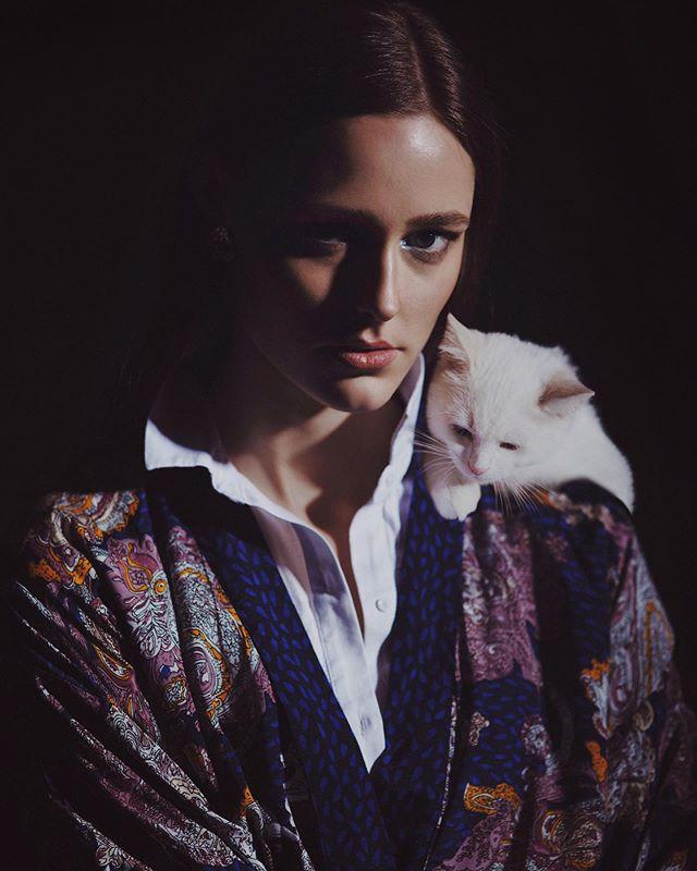 feline kitten studiobernhardina editorial beauty