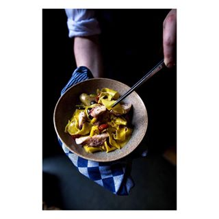 pasta italianfood chefinthemaking gastronomy foodporn rotterdam restaurant foodphotography yahoofood octopus portrait
