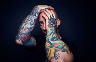 tattoo bologna ritratto color portrait tattoomodel foto