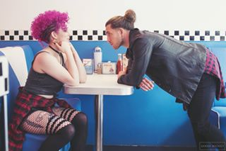 inkedmodels dinerphotos tattoo photooftheday irishphotographer tonitopaz inked riverdale diner southsideserpents dinerphotoshoot fauxhawk retro corkfashion inkedwomen inkedmen photoshoot jughead tattoos corkcity photography serpents photographer shakedog grunge punk inkedgirls