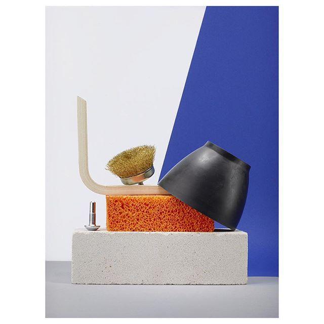 minimalism color setdesign digital stilllifephotography sculpture structure hardwarestore cool design minimal photooftheday berlin minimalistic love stilllife blue photo still sun beautiful summer studio phaseone luisahanika photography spring sponge