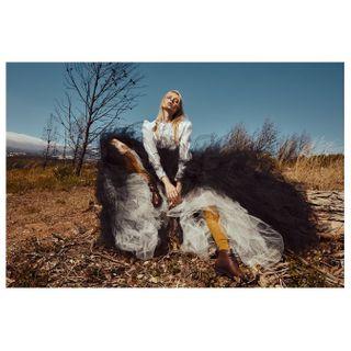 latestmagazine wastelands fashioneditorial beautyphotography fashionphotography pedrogabrielstudio MUA styling artdirection
