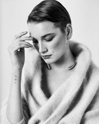 marieclairemagazine bnwmood beautyphotoshoot editorialphotography fashionphotographerslife