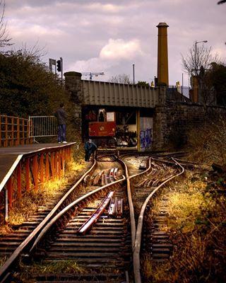 canonuk welivetoexplore scenery traintracks scenicbritain atwork getoutside bristol rails