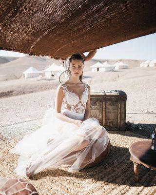 agafaydesert glamping marrakech wedding weddingadventure weddingdress weddingphotography