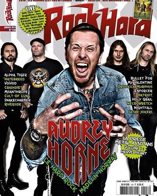 rock magazine photoshop cover retouching music