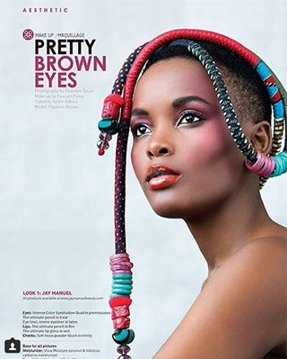 model beauty magazine africanbeauty makeup colorful skin editing retouching lipstick africa editorial beautyeditorial