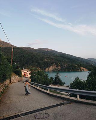 urbex verdon lac lake france imjustpassing nature sunset ig_color landscape love blue water