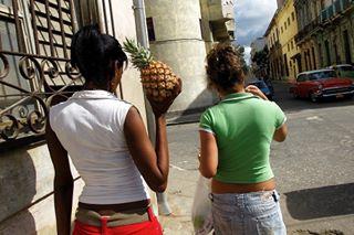 habanavieja pineapple ananais piña streetphotography fotografiadocumental lahabana buenosdias documentary backtocolor fruit friends street cuba documentaryphotography amigos goodmorning fruta
