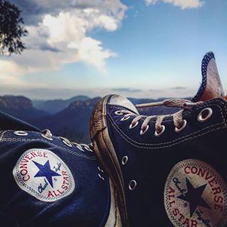 allstars allstarshoes australia blackheath bluemountains bluemountainsnsw converse gurushots shoes sneakers sydney view