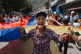 17mayo mérida protestas santacruzdemora venezuela