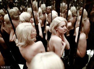 style fashion model mirror fashionphotography reflection blonde photography