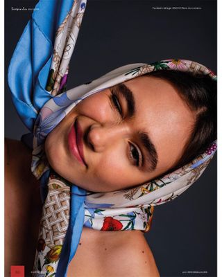 fashionphotographer fashionphotography gucci gucciflora magazineeditorial shotbyme wonderwallmanagement ww_mgmt