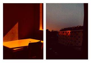 abstractmag aintbad amsterdam blue dutch foamamsterdam lekkerzine light orange photoart ramazanbarlas red rentalmagazine shadows shotoniphone sky somewheremagazine summers sun warm window