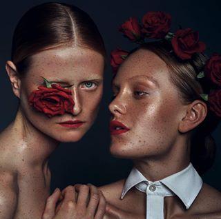 photography shoot potd beauty studiophotography femalemodel fashion freckles models beautyretouch roses pose