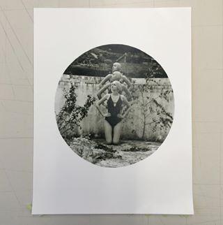 swimmingpool linz photoproject retro barytpapier austria analogfilm circle blackandwhitefilm analogphotography ilforddelta400 blackandwhitephotography uni barytapaper analogvibes nikonf90x darkroom lensculture