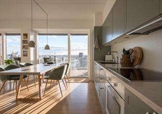 roomporn kitchendesign photography interiordesign realstate scandinaviandesign chair danishdesign kitchen livingroom wideangle copenhagen