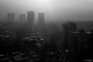 monochrome town sunlight sosofia sofia bulgaria insta mist city blackandwhitephotography likeforlike cityscape photography nikkor instagood instadaily bw picoftheday likeforfollow like4like nikon blackandwhite landscape smoke nikond3300 like4follow sun photooftheday