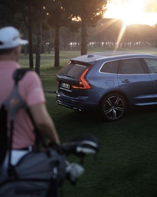 cars sunrise volvomoment volvo golf volvoxc60 photography