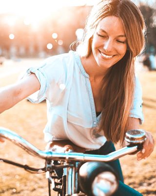 myfujilove colourtoneapp smile portrait_society nicepeople girl lifestyle liveauthentic imaginarymagnitude photography sunset summervibes bicycle portrait_perfection