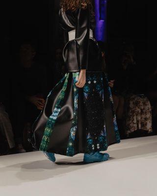 planetearth catwalk savetheplanet girlpower sustainability sustainablefashion fashionphotographer outfit strident photography jennyhaimerl fashionweek mbfw berlin designer fashion runway rebekkaruetz