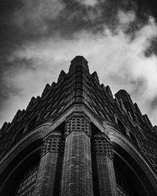 light france noiretblanc stone architecture artwork strange clouds sky shadow art paris blackandwhite sorbonne