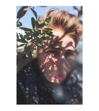 with concepcion artbasel monablank ❤️ newyorkmodels love newyork gallery color art shades deformation eyes iceland arte photoagency boy photography portrait model ginger