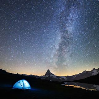zermatt matterhorn milkyway switzerland