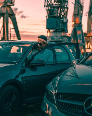jeffasseurvisuals canonphotography canon clearyourhead latenightdrives sunset volkswagengolf carphotography portraitphotography portrait eveningdrives photooftheday carlifestyle