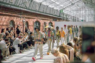 2020 beauty clothing fashion fashionshow fashionweek finland floral fresh helsinki helsinkifashionweek man nordic pretty recycle reuse spring springsummer summer sustainability sustainablefashion